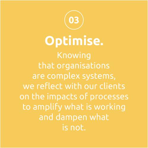 Thoughtsmiths - Optimise